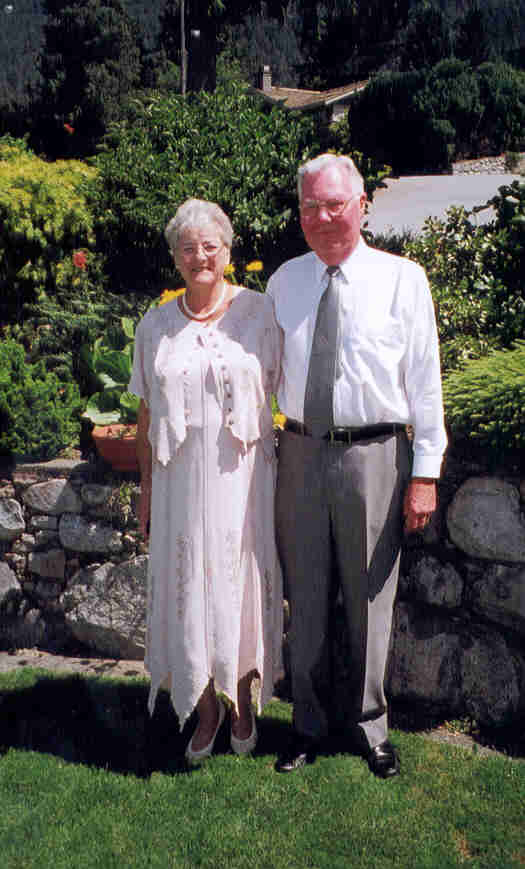 Jean and Bob Carr - Doug & Melissa's wedding day